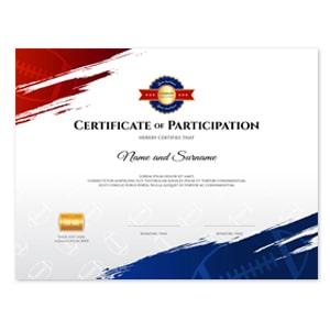 Друк сертифікатів А4