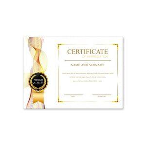 Друк сертифікатів А5